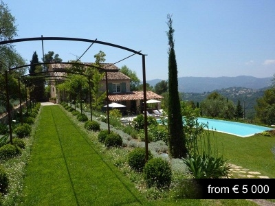 Newly renovated and extremely charming property in the heart of Mougins.
